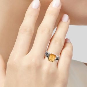 David Yurman Albion petite ring.